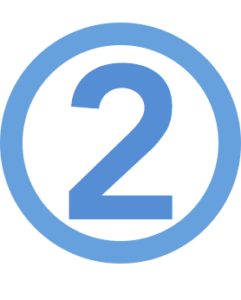 blue-number-2-two